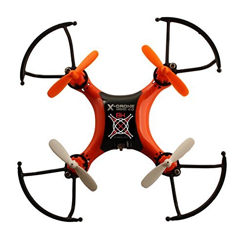 BH Tech X-DRONE NANO 2.0 Nano Quadcopter With 6-Axis Gyro And 360 Eversion 2.4 Ghz 4 Channel Remote Control RC Nano Drone Mini Quadcopter Mini Drone