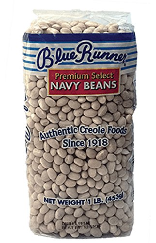 Blue Runner Dried Premium Select Navy Beans, 1 Pound by Blue Runner