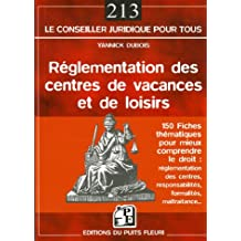 RÉGLEMENTATION DES CENTRES DE VACANCES ET DE LOISIRS
