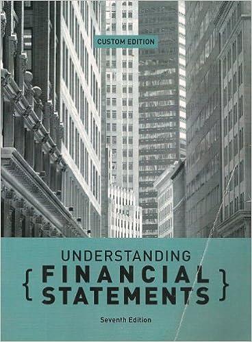 Book Understanding Financial Statements: CUSTOM EDITION, 7th edition