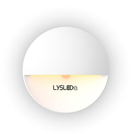 Luces de noche del sensor de movimiento, LYSLEDA de larga vida accionada por baterías(