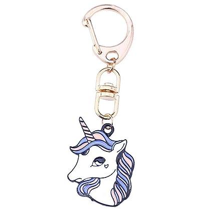 Doitsa Llavero Animal, Unicornio, Moda Personalizado ...