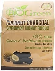 Biogreen Disposable Charcoal, 3kg, Black
