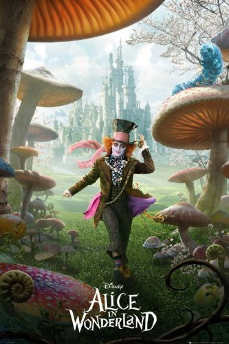 Alice In Wonderland Poster - Mad Hatter Costumes