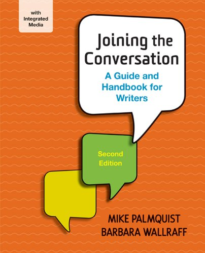 (Joining the Conversation: A Guide and Handbook for Writers)