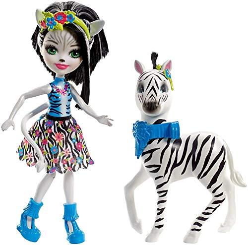 Enchantimals Zelena Zebra Dolls -
