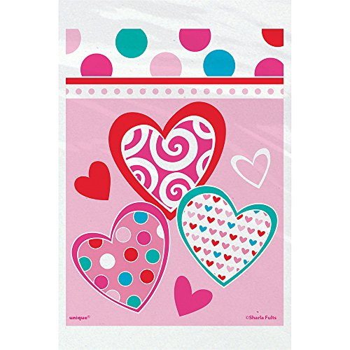Bright Hearts Valentine's Day Treat Bags, 50ct -