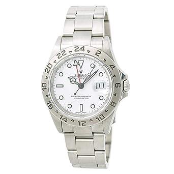 b24852a4173 Rolex Explorer II Automatic-self-Wind Male Watch 16570 (Certified Pre-Owned