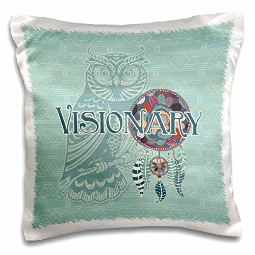 3d Rose 3dRose Purple Owl Native American Animal Spirit w...