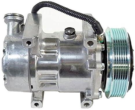 BEHR HELLA SERVICE 8FK 351 316-511 Compresor, aire acondicionado: Amazon.es: Coche y moto