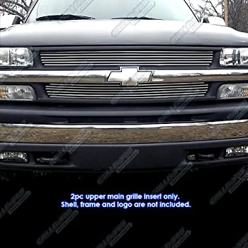 1991 2000 chevrolet silverado chrome grill. Black Bedroom Furniture Sets. Home Design Ideas