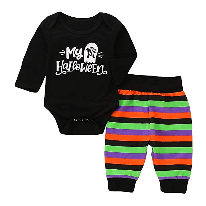 9d8b8fbcf197 Amazon.com  chinatera Newborn Girls Boys Long Sleeve Clothes Infants ...
