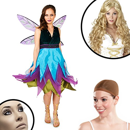Seasons Inc Costume (Witching Hour Dragonfly Adult Costume Kit Medium)