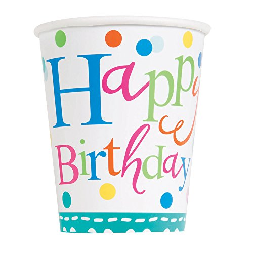 Confetti Cake Birthday Party Cups