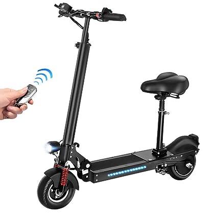 LIUJIE Scooter eléctrico, Scooter eléctrico Plegable de 8 ...