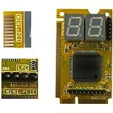 KALEA-INFORMATIQUE © - Testeur pour cartes mères de PC Portable - 3 interfaces : Mini PCI / Mini PCI EXPRESS / LPC