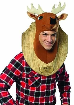 Rasta Imposta Trophy Head Deer, Brown, Standard