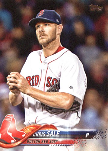 Baseball Sale Chris (2018 Topps #20 Chris Sale Boston Red Sox Baseball Card)