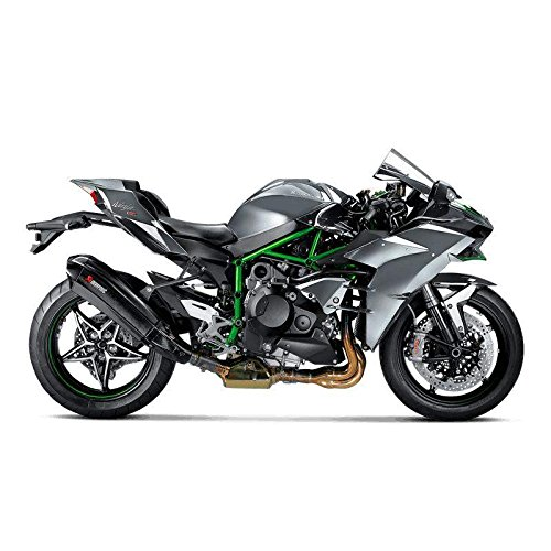 ESCAPE AKRAPOVIC NINJA H2 15-18: Amazon.es: Coche y moto
