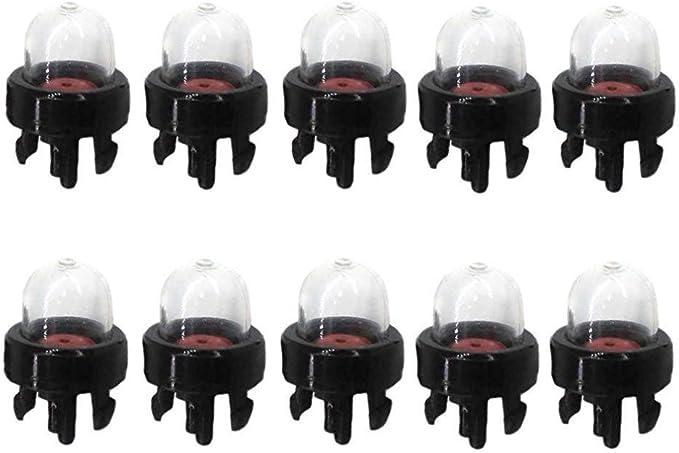 tJexePYK 10 Bulbo cebador para Echo Motosierra CS 340 341 345 346 370 300 301 305 3000 306,3400 3450