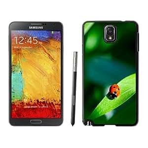 Fashion DIY Custom Designed Samsung Galaxy Note 3 N900A N900V N900P N900T Phone Case For Red Ladybug On A Green Leaf Phone Case Cover