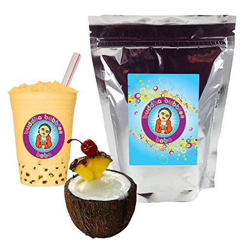 Pina Colada Boba/Bubble Tea Powder By Buddha Bubbles Boba 1 Pound (16 Ounces)   (453 Grams)