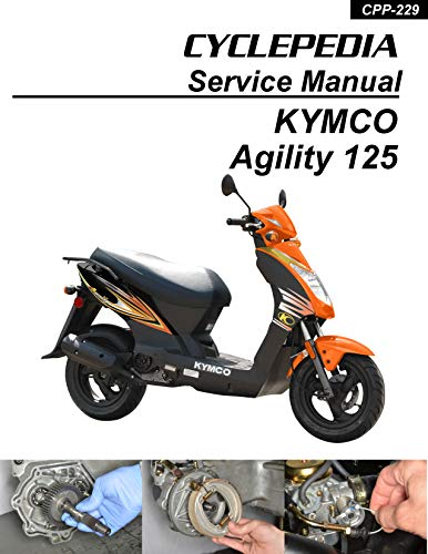 KYMCO Agility 125 Scooter Online Service Manual
