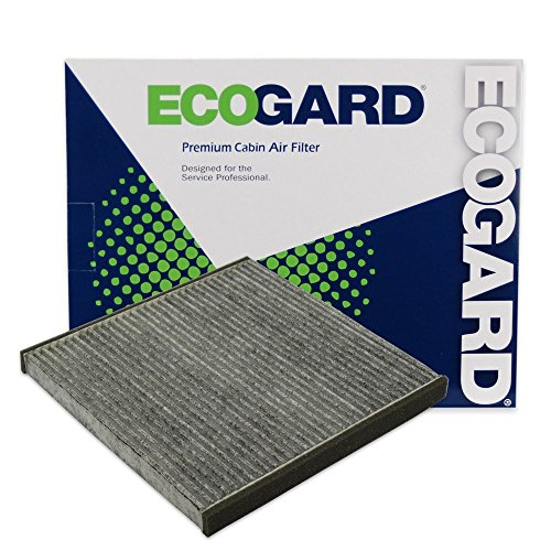 ECOGARD XC35518C Cabin Air Filter with Activated Carbon Odor Eliminator - Premium Replacement Fits Lexus LS430, SC430, GS300, GS430