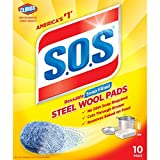 S.O.S. Steel Wool Soap Pads, 10 Count