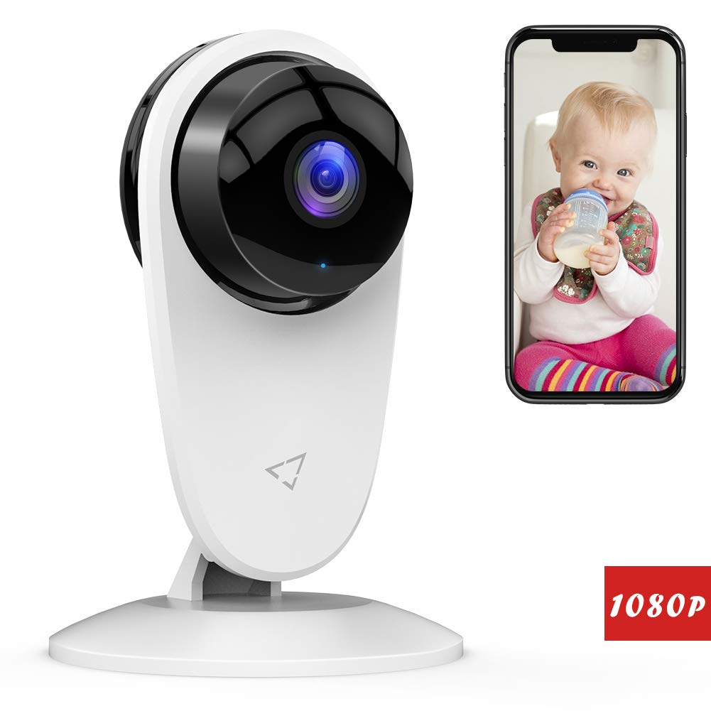 [Updated] Victure Baby Monitor 1080P FHD Home WiFi Security Camera Sound/Motion Detection with Night Vision 2-Way Audio…