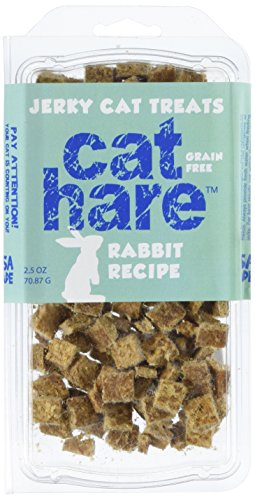 Hare Of The Dog – Cat Hare 100% Rabbit Treats 2.5oz – All Natural, Grain Free Cat Treat, Limited Ingredients, USA Made