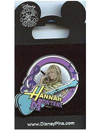 Pin Hannah Montana Guitar and Circle Photo