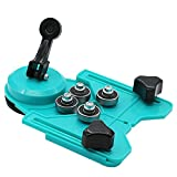 Wandofo Mini Table Top Bench Vice Vise Press Clamp Rubber Suction Base Carving Fixture Tool