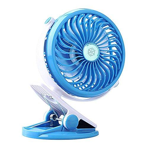 Find Discount USB Rechargeable Battery Fan Clip on Fan Portable Baby Stroller Fan Desk Mini Battery ...