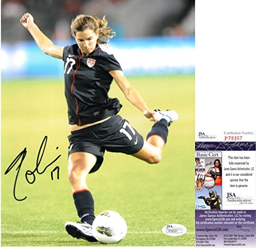 Tobin Heath Signed USA Soccer Photo *JSA COA P78357* World Cup Authentic Autograph by Tnahsin83181 Collectibles