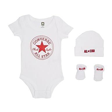 a8c6c5756951 Converse Baby 3 Piece Clothing Set