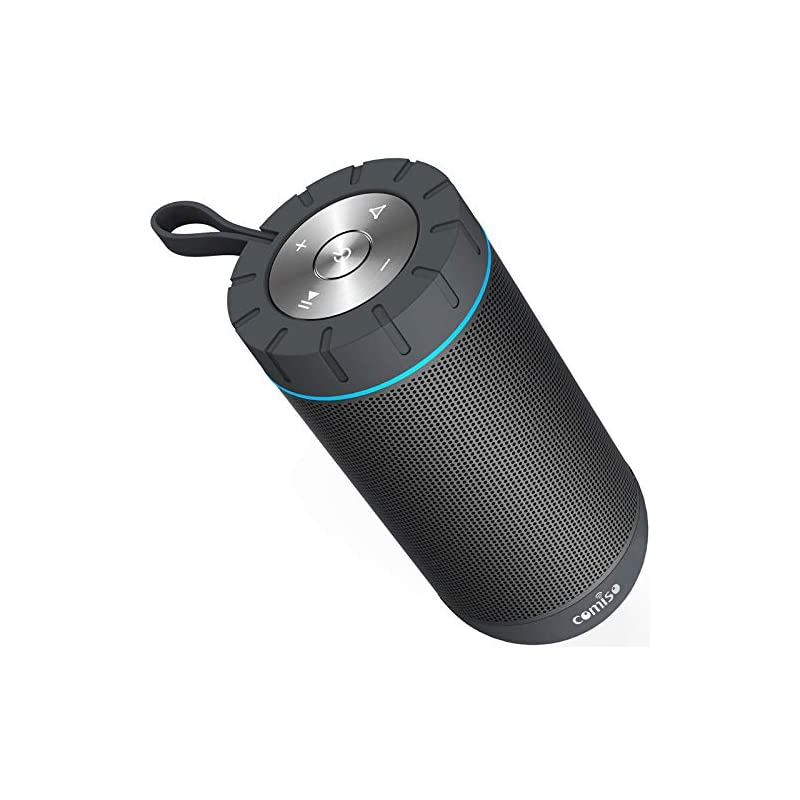 COMISO Waterproof Bluetooth Speakers Out