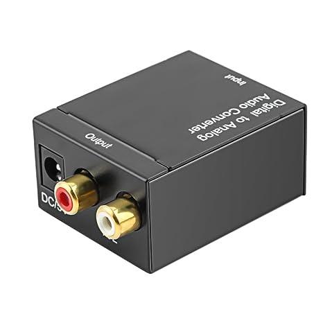 Convertitore analogico digitale ottico Toslink a