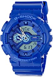 Casio G-SHOCK Men's GA110BC-2A Blue