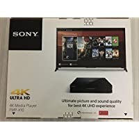 Sony FMPX10 4K Streaming Media Player Bundle FMP-X10