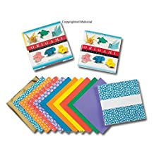 Origami Extravaganza! Folding Paper, a Book, and a Box: Origami Kit Includes Origami Book, 38 Fun Projects and 162 High-Quality Origami Papers: Great for Both Kids and Adults