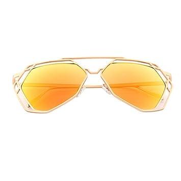 Fletion Mode Retro Sonnenbrille Europa Damen Herren Street Beat Sonnenbrille Metall Rahmen Unisex Sport Sonnenbrille qsYWi6N4Zg