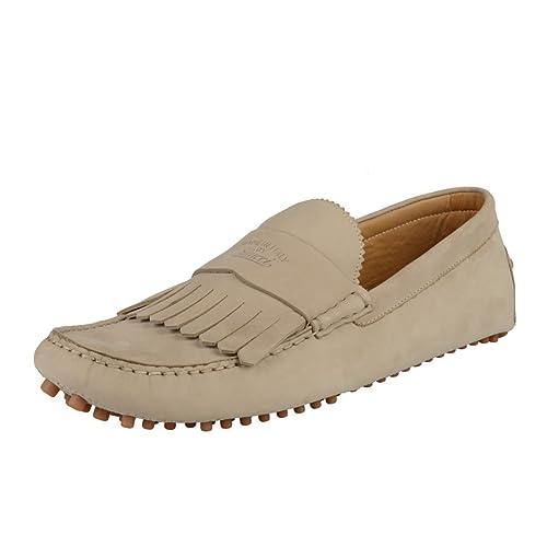Gucci - Zapatos mocasín Hombres, Gris (Gris), US 10.5 IT 9.5 EU 43.5;: Amazon.es: Zapatos y complementos
