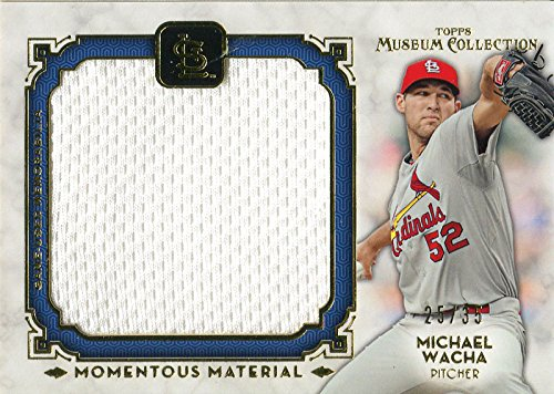 (Michael Wacha Unsigned 2014 Topps Museum Collection Jersey Card)