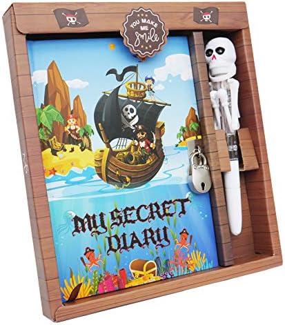Diario para ni/ños Monet Studios Unicorn Diary Secret tama/ño A5, con candado y dise/ño de Unicornio Envejecido, 5 6, 7, 8, 9, 10 y 11 dise/ño de Unicornio