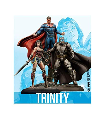 Knight Models DC Universe Miniature Game Trinity Batman Superman Wonder Woman (Resin)