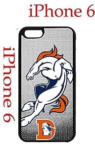 Denver Broncos iPhone 6 Plus 5.5 Case Hard Silicone Case