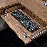"""Sauder 420606 Palladia L-Shaped Desk, L: 68.74"""" x W: 65.12"""