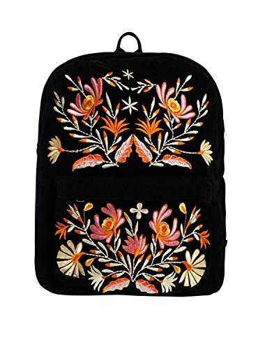 PCFAIRY PIECES Negro Mochila PIECES Mochila Pink agxtfBn