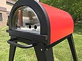 ilFornino Piccolino Wood Fired Pizza Oven – Red